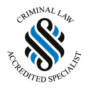 Criminal Law Accredited Specialist